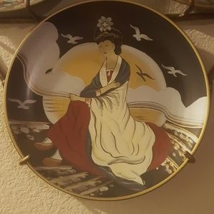 "oriental Wall Art - Collector oriental 10"" plates"